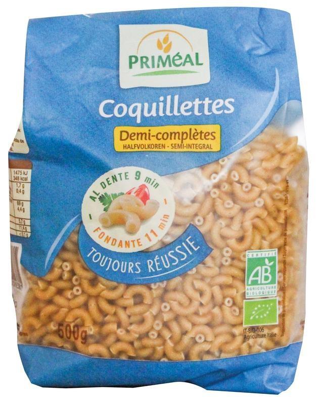 Primeal Primeal Macaroni halfvolkoren elleboog (500 gram)