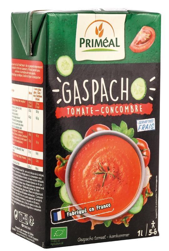 Primeal Primeal Gaspacho tomaat komkommer (1000 ml)