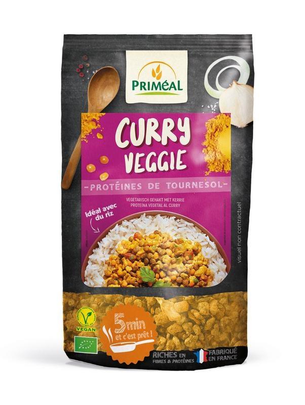 Primeal Primeal Curry Veggie gehakt met kerrie (150 gram)
