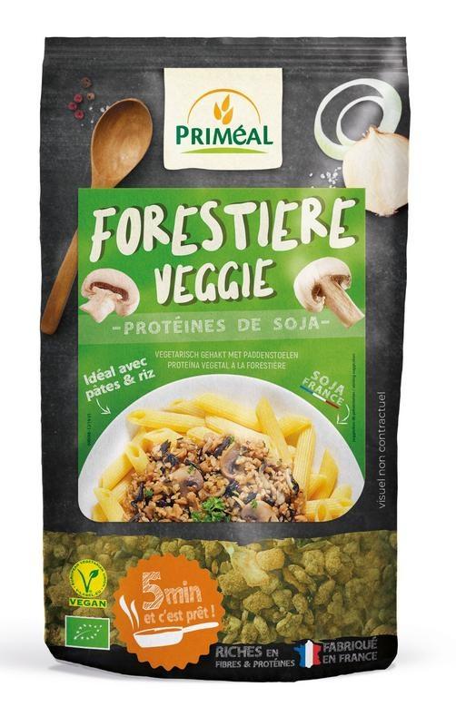 Primeal Primeal Forestiere Veggie gehakt met paddestoelen (125 gram)