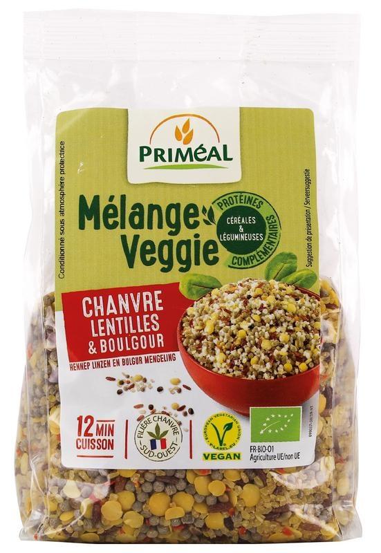 Primeal Primeal Hennep linzen bulgur veggiemix (300 gram)