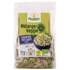 Primeal Hennep spliterwt rijst veggiemix (300 gram)