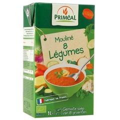 Primeal Groentesoep met 8 groentes (1000 ml)