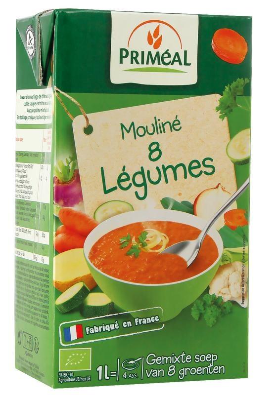 Primeal Primeal Groentesoep met 8 groentes (1000 ml)