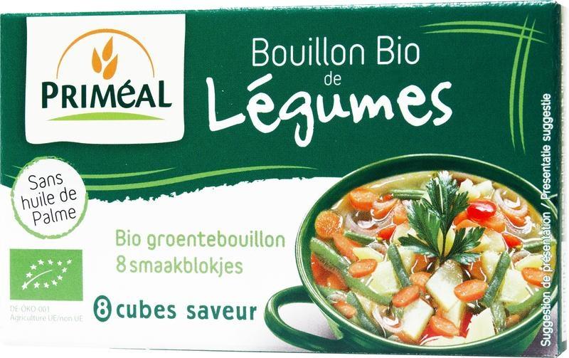 Primeal Primeal Groentebouillon blokjes 9 gram (8 stuks)