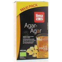Lima Agar agar maxi pack 2 gram (20 zakjes)