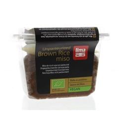 Lima Brown rice miso ongepasteuriseerd (300 gram)