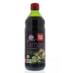 Lima Tamari 50% minder zout bio (500 ml)