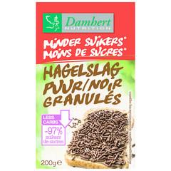 Damhert Hagelslag puur minder suiker (200 gram)