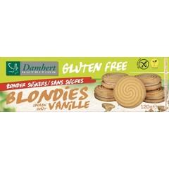 Damhert Blondies glutenvrij zonder suiker (120 gram)
