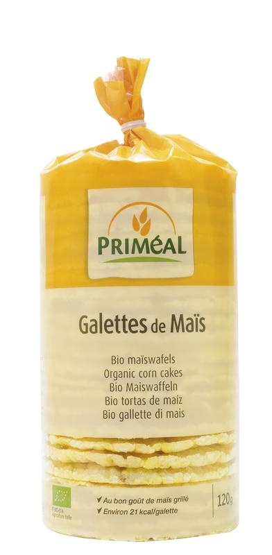 Primeal Primeal Corn cakes (120 gram)