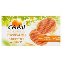 Cereal Stroopwafels minder suikers (175 gram)