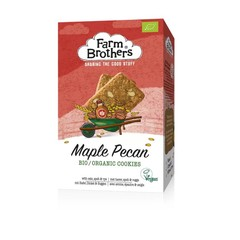 Farm Brothers Maple & pecan koekjes vegan (150 gram)