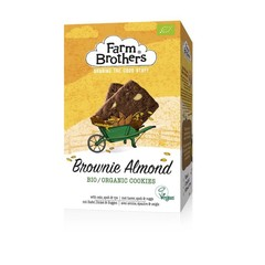 Farm Brothers Brownie & almond koekjes bio & vegan (150 gram)