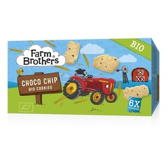 Farm Brothers Kids chocolate chip cookies 6 x uitdeelzakjes (102 gram)