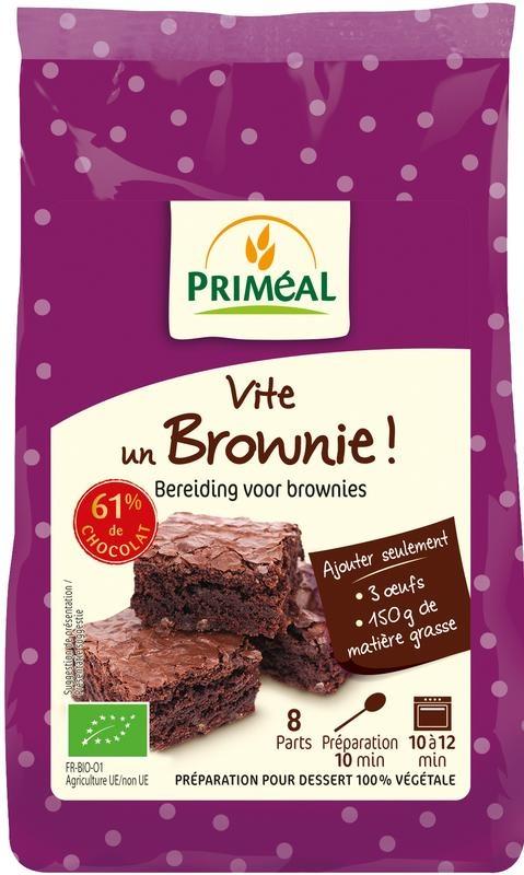 Primeal Primeal Brownies mix (350 gram)