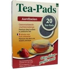Geels Strawberry vruchtmelange tea pads (20 stuks)