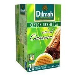 Dilmah Ceylon green tea met kaneel (20 zakjes)