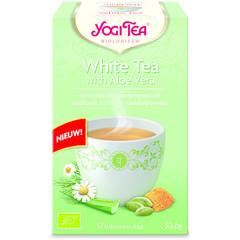 Yogi Tea White tea with aloe vera (17 zakjes)