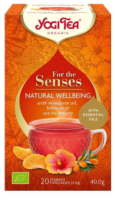 Yogi Tea Tea for the senses natural wellbeing (20 zakjes)