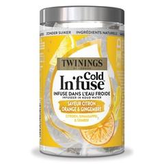 Twinings Cold infuse citroen sinaasappel gember (10 stuks)