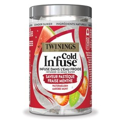 Twinings Cold infuse watermeloen aardbei munt (10 stuks)