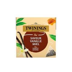 Twinings Vanille honing (20 zakjes)