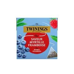 Twinings Bosbes framboos (20 zakjes)