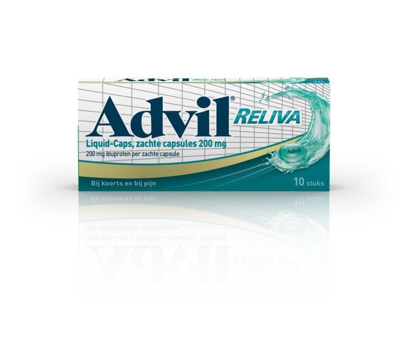 Advil Advil Advil reliva liquid caps 200 (10 capsules)