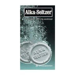 Alka Seltzer Alka Seltzer UAD (20 bruistabletten)