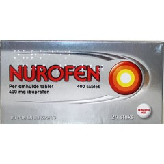 Nurofen 400 mg Omhulde tabletten (24 tabletten)