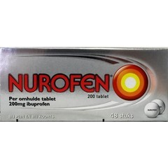 Nurofen 200 mg Omhulde tabletten (48 dragees)