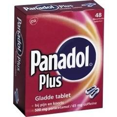 Panadol Panadol plus glad (48 tabletten)