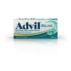 Advil Advil reliva liquid caps 200mg UAD (20 capsules)