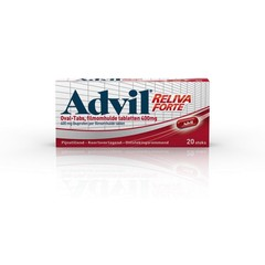Advil Advil reliva 400 mg ovaal blister UAD (20 dragees)