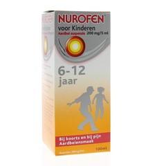 Nurofen 4% Kind aardbei suspensie (100 ml)