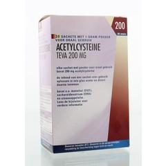 Teva Acetylcysteine 200 mg poeder (30 sachets)