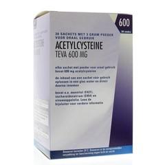 Teva Acetylcysteine 600 mg (30 sachets)