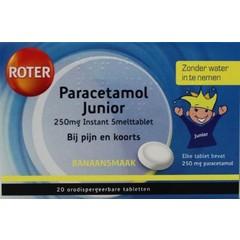 Roter Paracetamol 250 junior UAD (20 smelttabletten)