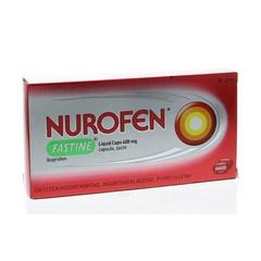 Nurofen Fastine liquid caps 400 mg ibuprofen (20 capsules)