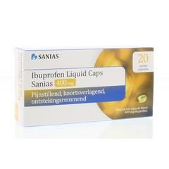 Sanias Ibuprofen liquid 400 mg (20 capsules)