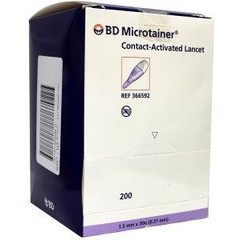 BD Microtainer cal lancet 592 (200 stuks)