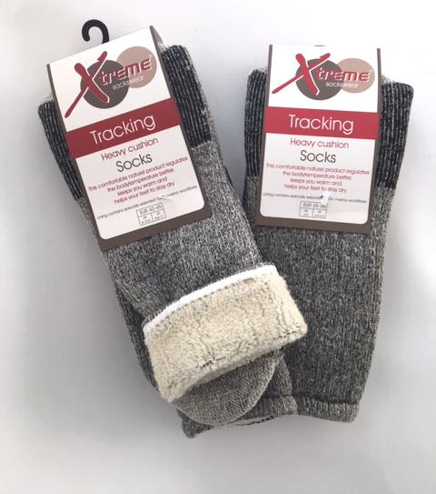 Xtreme Sockswear Xtreme Sockswear Sokken merinowol grijs 35/38 (1 paar)