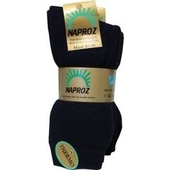 Naproz Thermo sokken 35-38 blauw (3 paar)
