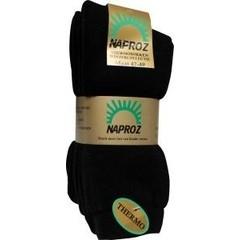 Naproz Thermo sokken 47-49 zwart (3 paar)