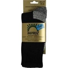 Naproz Thermo loop wandel sport sokken blauw 35-38 (1 paar)