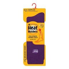 Heat Holders Ladies socks ultra lite 5-9 purple (1 paar)