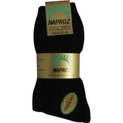 Naproz Thermo sokken 43-46 zwart (3 paar)