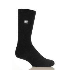 Heat Holders Mens sock ultra lite 6-11 black (1 paar)