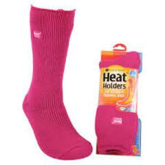 Heat Holders Ladies original socks 4-8 raspberry (1 paar)